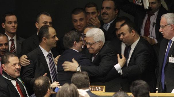 """Filistin BM'de """"gözlemci devlet"""" statüsü kazandı"""