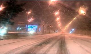 Kış geldi Ankara beyaza büründü