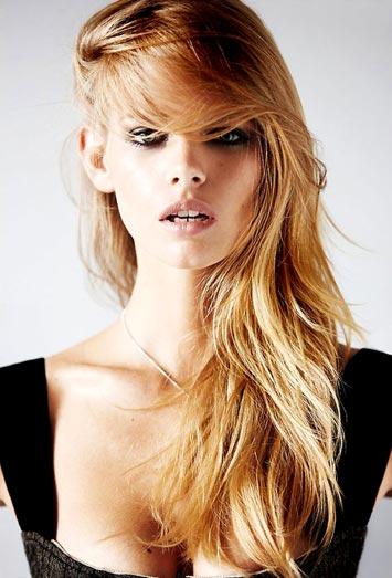 Yüz şekline göre saç kesimi