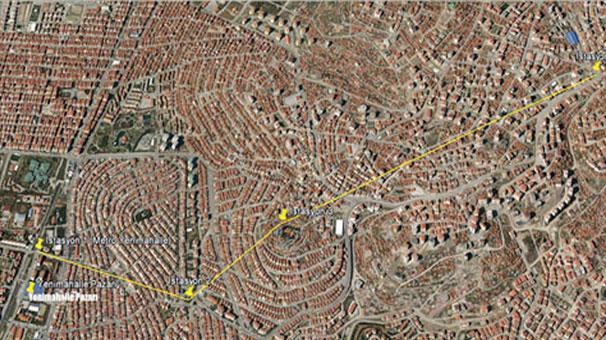 Türkiye'nin ilk toplu taşıma teleferiği
