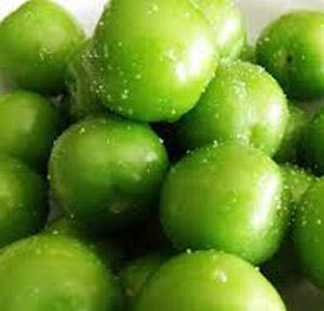 Hadi yeşil erik yiyelim