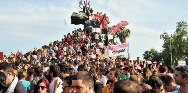 Polis, Taksim Meydanı'ndan ayrıldı