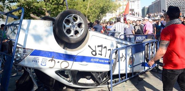 Savaş alanı değil Taksim