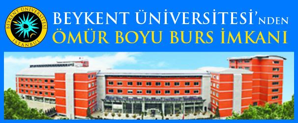 Beykent Üniversitesi'nde burslar eğitim hayatı boyunca kesilmez.