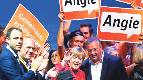 Şansölye Angela Merkel, koalisyon ortağı kim?