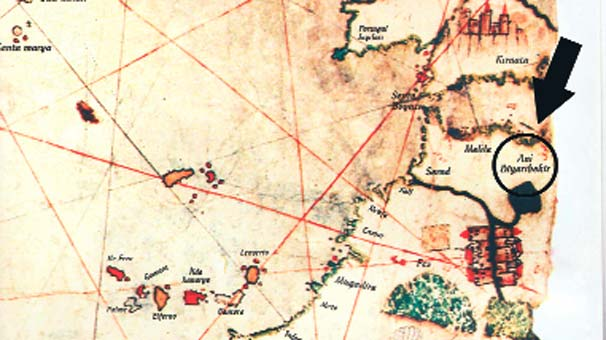 Piri Reis haritasında 'Diyarıbekir' şifresi