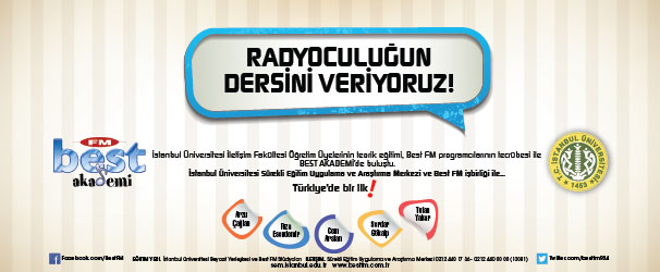RADYOCULUĞUN DERSİNİ VERİYORUZ!..