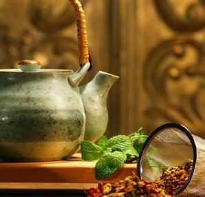Gripten korunmak için safari çayı için