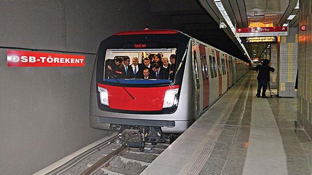 Başkentliler yeni metro hattına yarın kavuşacak