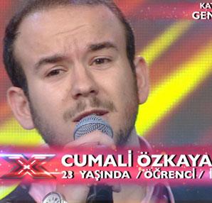 X Factor Son Bölüm izle (X Factor Cumali Özkaya performansı)