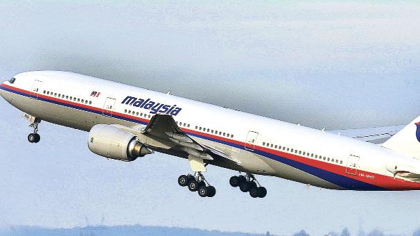 Malezya uçağı kayıplara karıştı