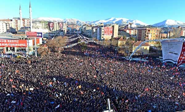 Erdoğan: Türkçe Olimpiyatları bitti