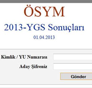 2014 YGS Sonuçları (ÖSYM YGS Sonuçları tıkla öğren 2014 YGS Sonuçları)