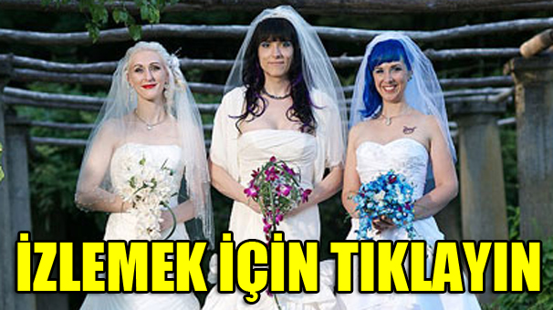 Dünyadaki ilk üçlü evlilik