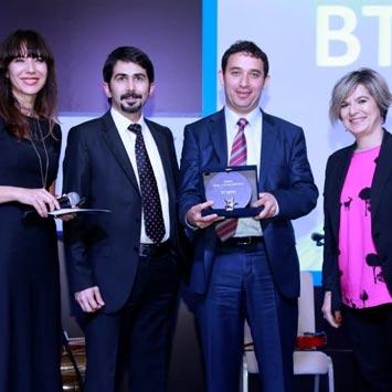 BT Eğitim Yılın Eğitim İş Ortağı Ödüllerini Topladı