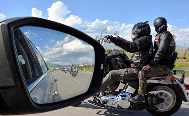 Harley sevenler Kars'ta buluştu