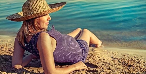 Hamilelere Sağlıklı Yaz Tatili Önerileri