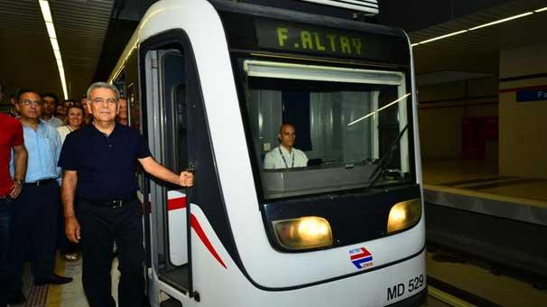 İzmir Metrosu'nda nihayet mutlu son