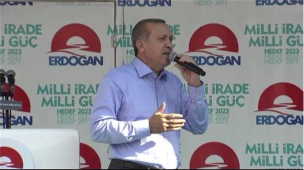 Erdoğan İhsanoğlu'nu bu görüntülerle vurdu