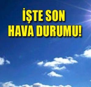 Öğren istanbul ve türkiye geneli günlük hava durumu raporu