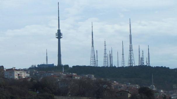 Çamlıca Tepesi'ndeki antenler kaldırılacak!