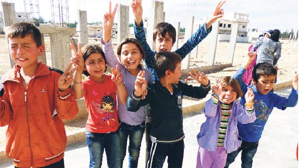 Kobani'de ölüme direnen siviller