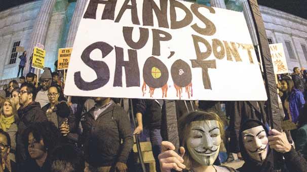 Ferguson ateşi ABD'ye yayıldı
