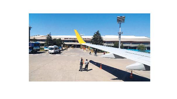 Diyarbakır Havaalanı Sudjian'a ait çıktı