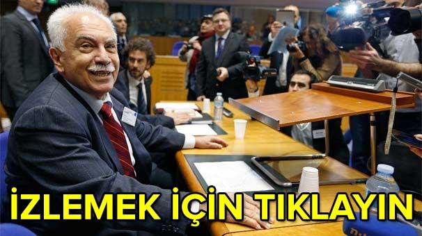 Tarihi duruşma... Perinçek AİHM'de