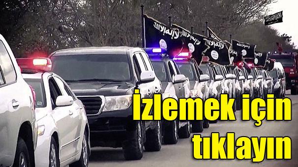 IŞİD gövde gösterisi yaptı