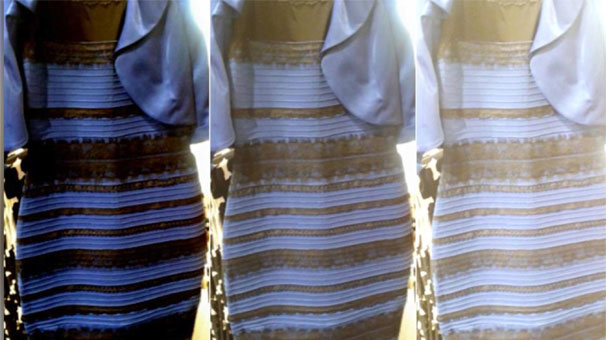 Фото платья золотисто белое