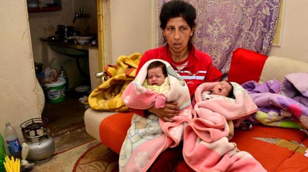 Atam ailesinin 40 günlük ikizlerin sütü yok