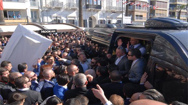 İzmir'de Sedat Peker izdihamı