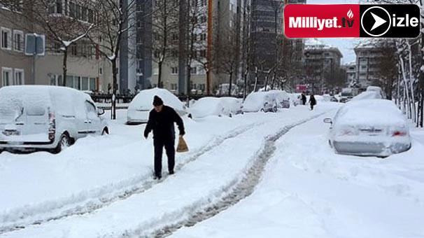 Meteoroloji uyardı: Kar yağışı devam edecek!