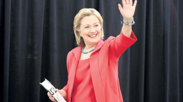Clinton ilk kadın başkan  olmak için resmen aday
