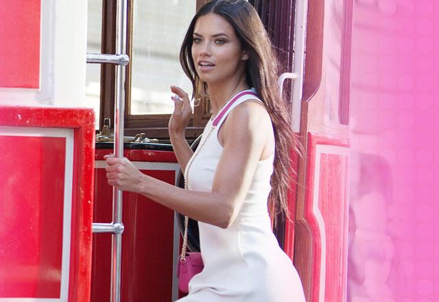 Veet güzeli Adriana Lima ile sohbet