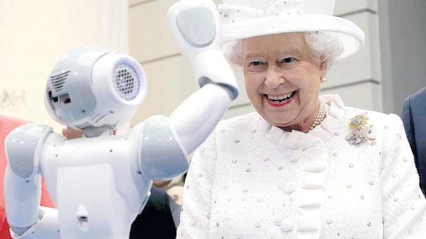 Robotun kralını gördü