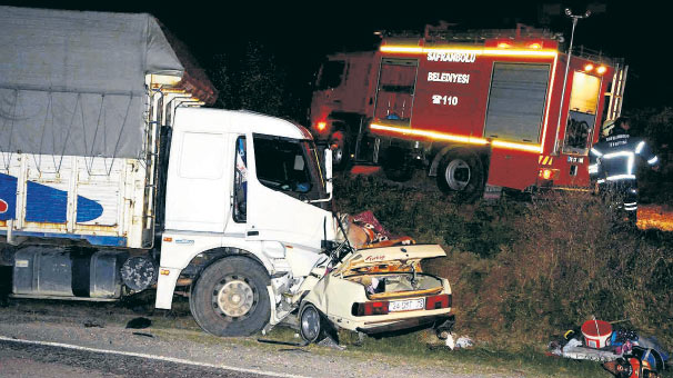 Trafik canavarına 1 günde 15 kurban haberi