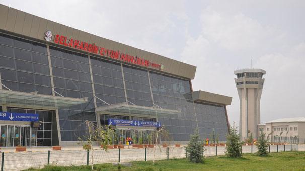 Selahaddin Eyyubi Havalimanı'nda uçuşlar iptal