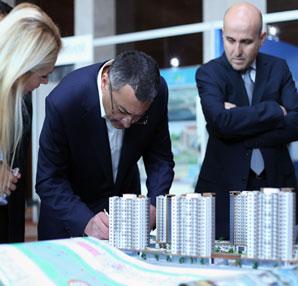 Azerbaycan'da emlak fuarı