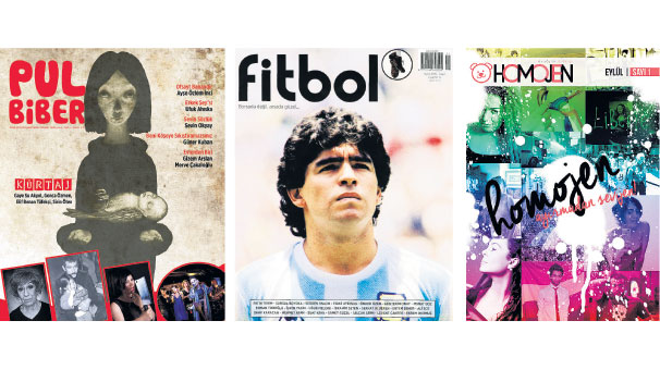 3 dergi 3 bakış