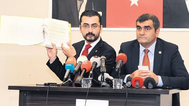 CHP'li vekillerden  'sarin gazı' iddiası