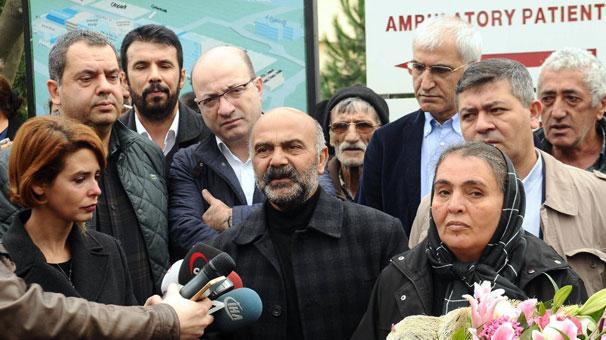 CHP heyeti, sanatçı ve yazarlardan Dilek Doğan'a 'geçmiş olsun' ziyareti