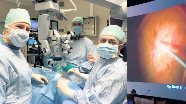 Türk doktordan canlı yayında ameliyat