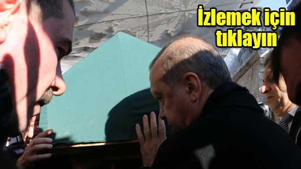 Erdoğan ve Davutoğlu, Hasan Karakaya'nın cenazesine katıldı