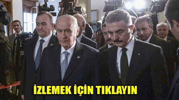 Davutoğlu-Bahçeli görüşmesi sona erdi! İlk açıklama MHP'den geldi...