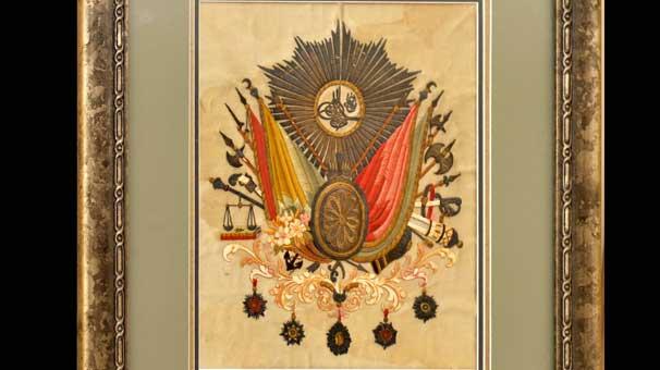 Sultan 2. Mahmut'un tuğrası Etnografyada