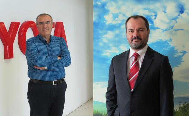Toyota Türkiye pazarlama ve satış A.Ş'de iki atama