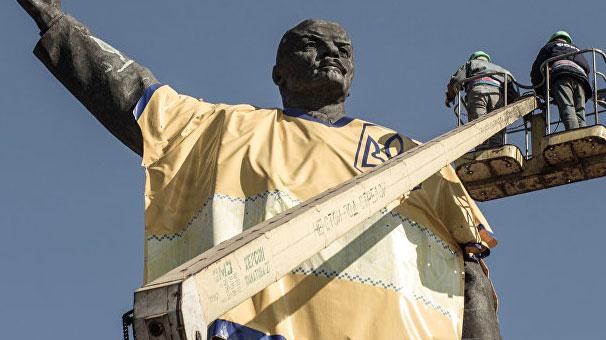 Dünyanın en büyük Lenin anıtı. Leninin en büyük anıtı 56