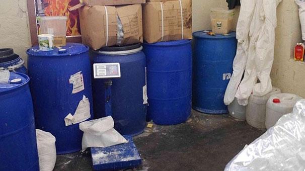 Bomba ihbarı yapılan ev deterjan imalathanesi çıktı